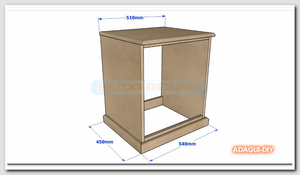 Como hacer velador de mdf v deo como hacer m dulo b sico for Como hacer muebles de madera gratis