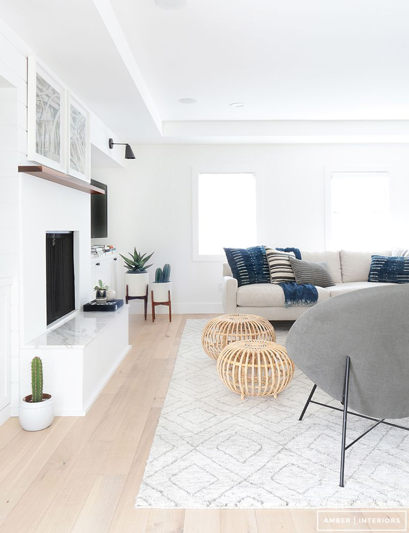 Get The Look Bright White Indigo Living Room Home Living Room Designs Minimalist Living Room