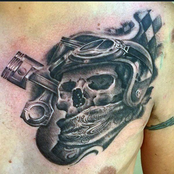 60 motorcycle tattoos for men two wheel design ideas pinterest tribute tattoos tattoo and. Black Bedroom Furniture Sets. Home Design Ideas