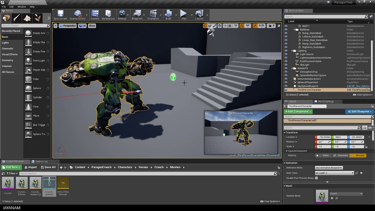 Unreal Engine 4 Punch Animation Collision Unreal Engine Video Game Development Game Engine