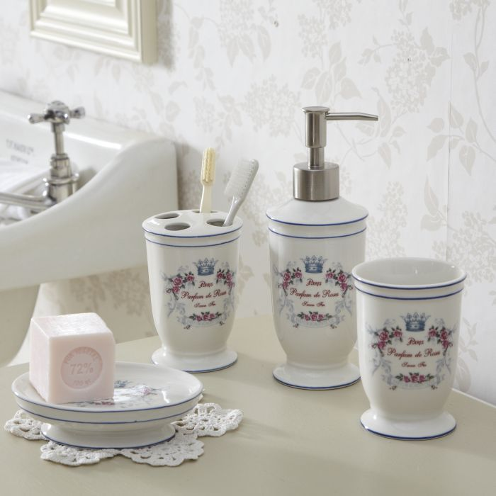 shabby chic bathroom accessories google search home decor rh pinterest com shabby chic bathroom accessories uk shabby chic bathroom accessories sets