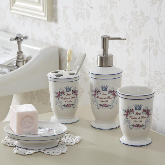 Shabby Chic Bathroom Bathroom Accessories Live Laugh Love
