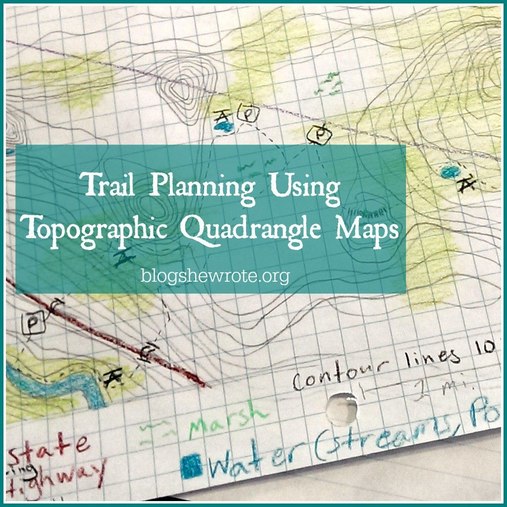 Want To Include Topographic Maps For Your Homeschool High