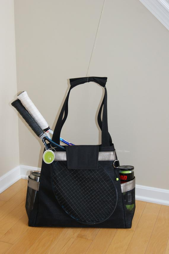New Tennis Bag Design With A Little Bling Small Accessory Etsy In 2020 Small Accessory Bag Bags Designer Bags