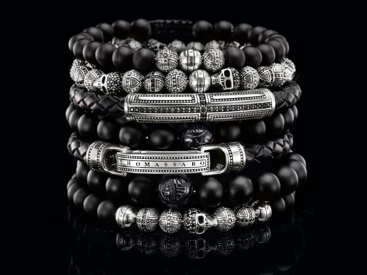 Thomas Sabo Mens Beaded Bracelets Mens Jewelry Mens Accessories Fashion