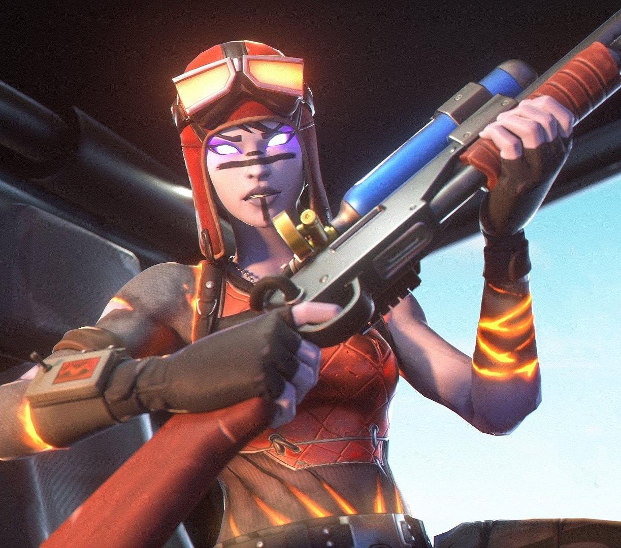 Blaze Renegade Raider In 2020 Raiders Raiders Wallpaper Fortnite