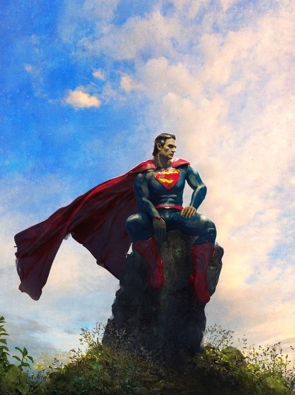 The Last Son of Krypton, Guillem H. Pongiluppi on ArtStation at https://www.artstation.com/artwork/Xx1QL