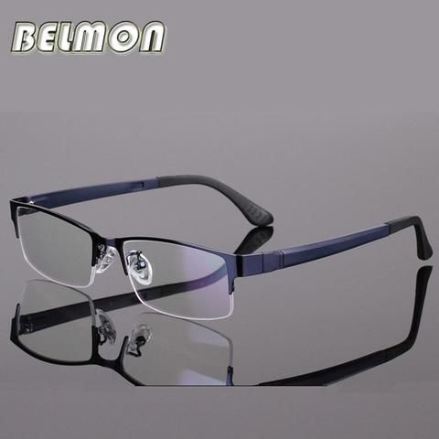 903decdc1d8 BELMON Spectacle Frame Eyeglasses Men Computer Optical Eye Glasses For Male  Transparentmodlilj
