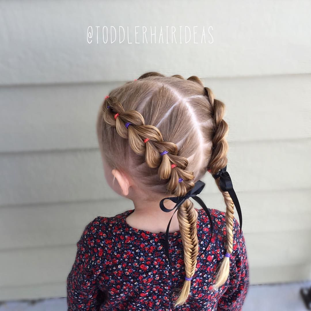 Coiffure Tresse Fillette Pin By Toddler Hair Ideas On Toddler Hair Ideas