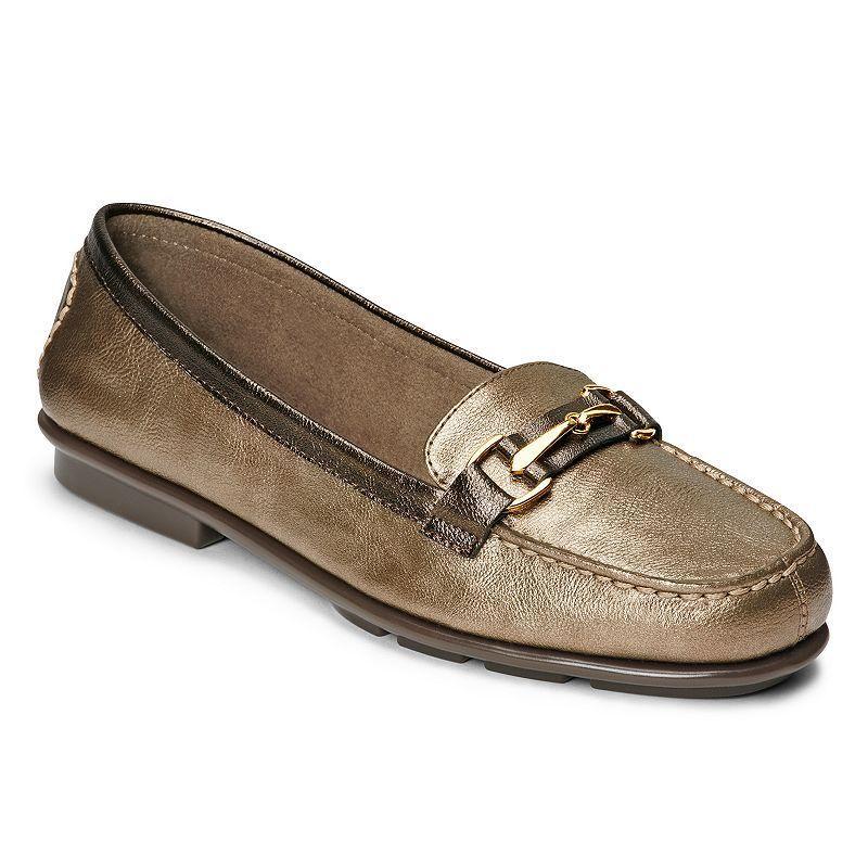 A2 by Aerosoles Stitch 'N Turn Nu World Women's Slip-On Loafers, Size: 7 Wide, Purple Oth