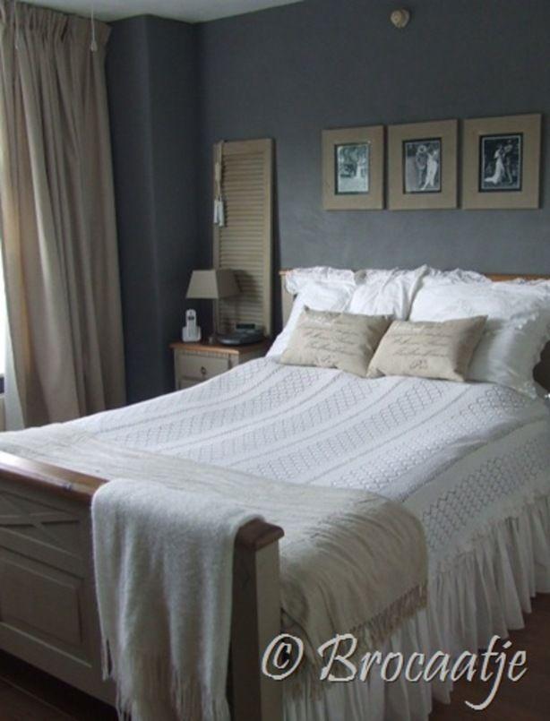 brocante slaapkamer . | droomkamers | pinterest, Deco ideeën
