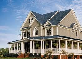 exterior weatherboard taupe - Google Search