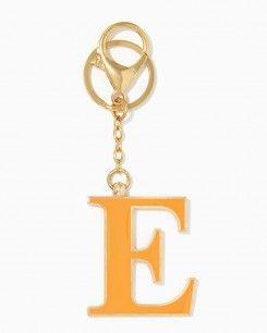 Initial E Keychain