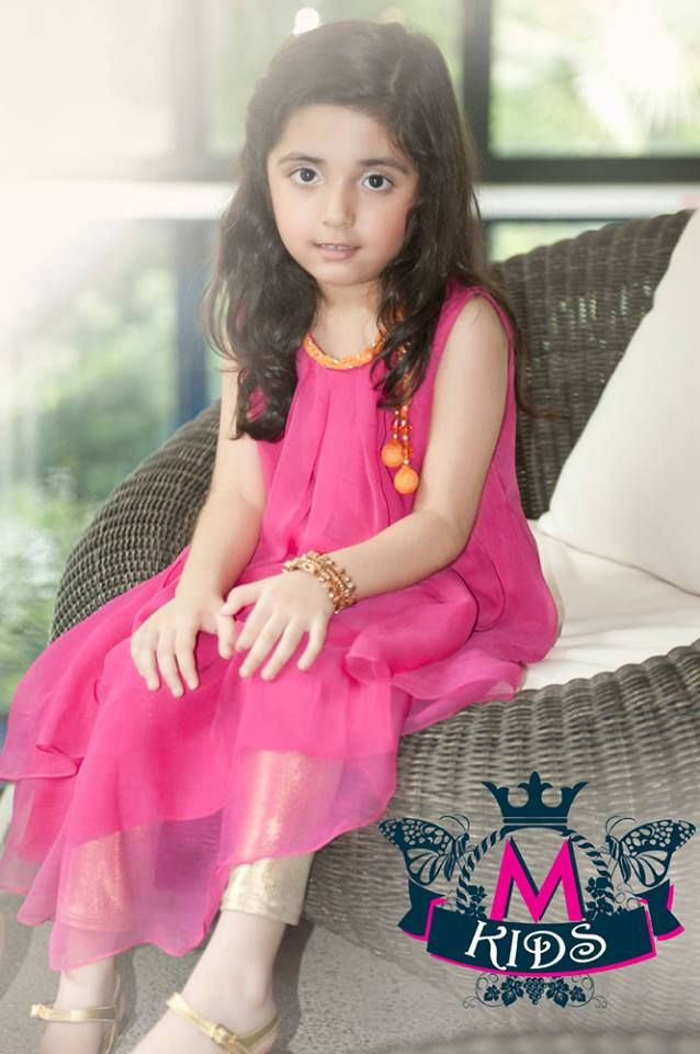 Pakistani Dress Designs for Girls - Maria B. Kids Collection 2014 ...