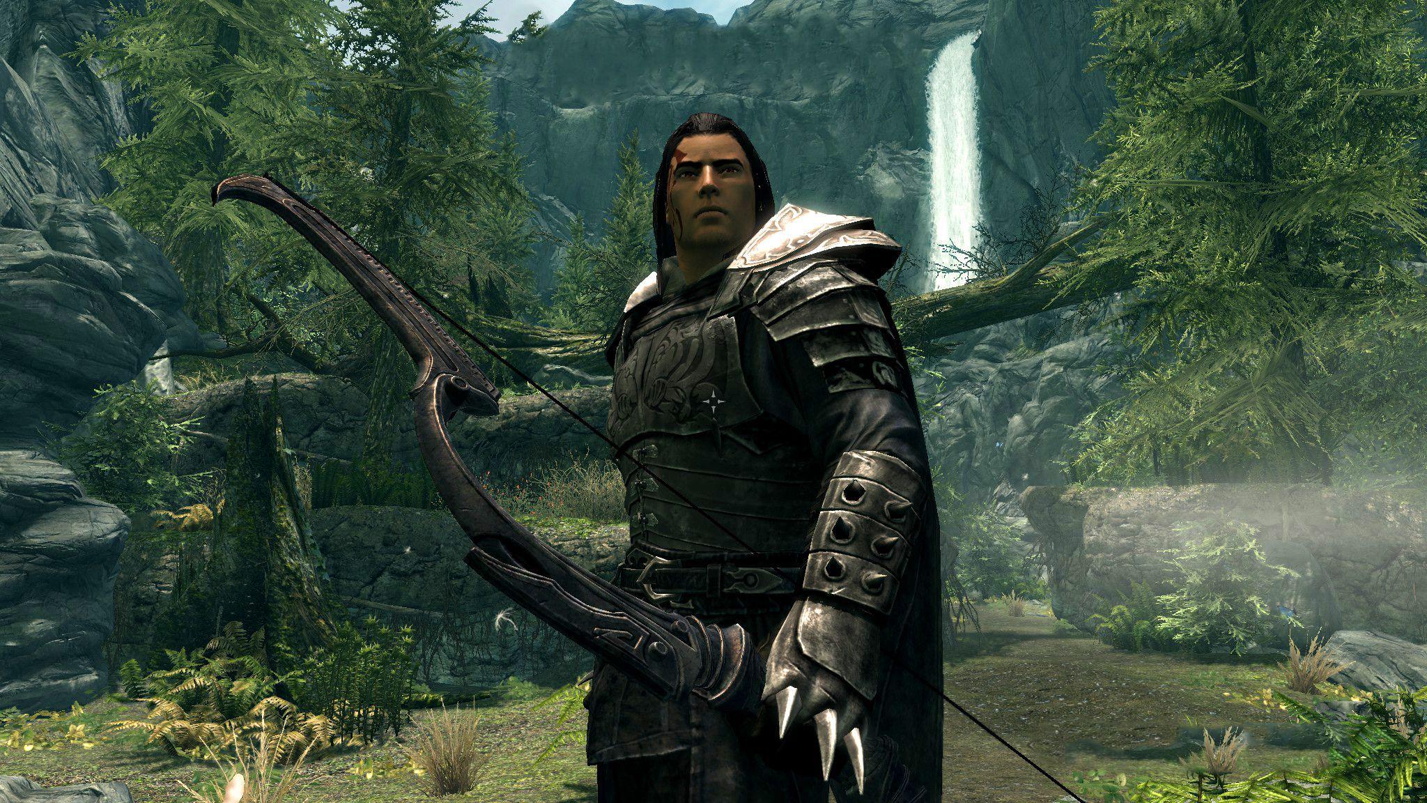 Kaidan - Fully Voiced Follower at Skyrim Special Edition