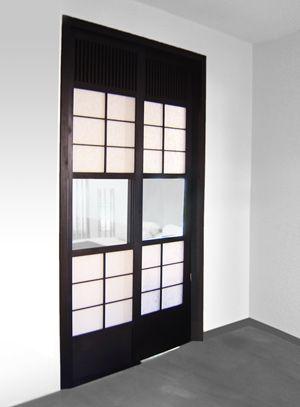 CINIUS  portes \ portes coulissantes - Configuration, doublure et - porte coulissante style atelier
