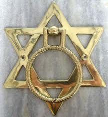 Brass knocker, Star of DavidHebrews - History, Art and Jewish symbols