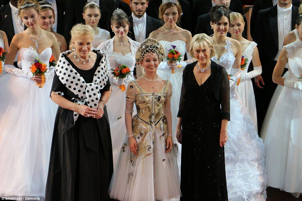 Russian Debutantes have a ball at lavish event | Debutante