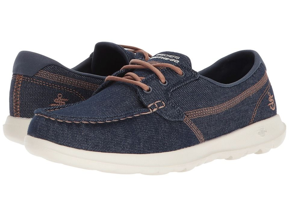 dc107ee68f3 SKECHERS Performance Go Walk Lite - 15435 Women s Shoes Denim ...