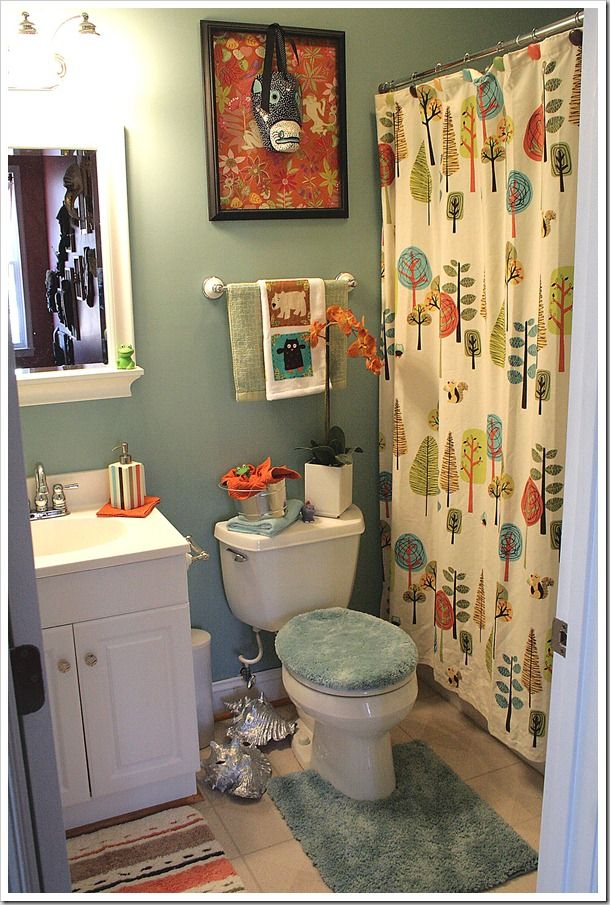 Kids Bath To Guest Bath And Back Makeover Bathroom Themes