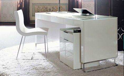Superior White Gloss Desk On Ligne Roset Hyannis Port Desk Iainclaridge Net
