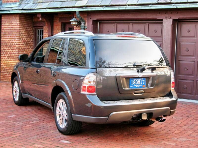 2007 Saab 9-7x With State Of Michigan Manufacturer License Plate ...