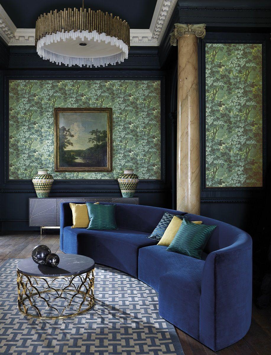 Tree Design Wallpaper Living Room: Richmond Park Wallpaper In 2019