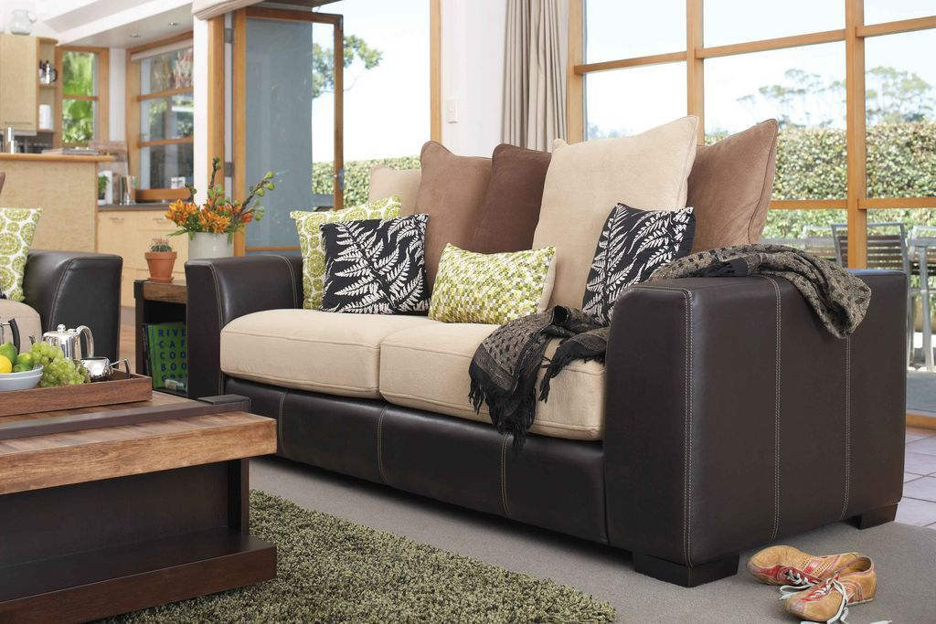 York 3Seater Sofa by Synargy from Harvey Norman New