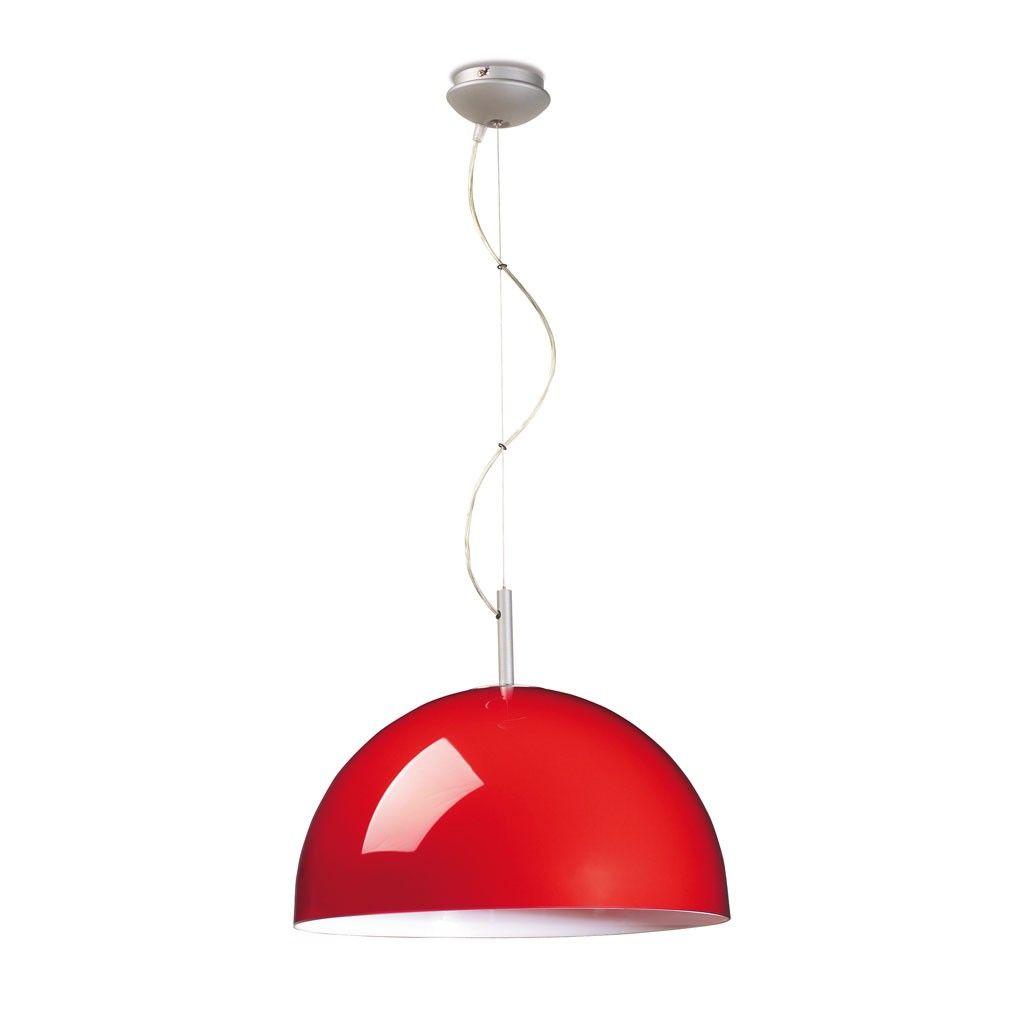 Lámpara de techo colgante modelo Danburite con pantalla en color ...