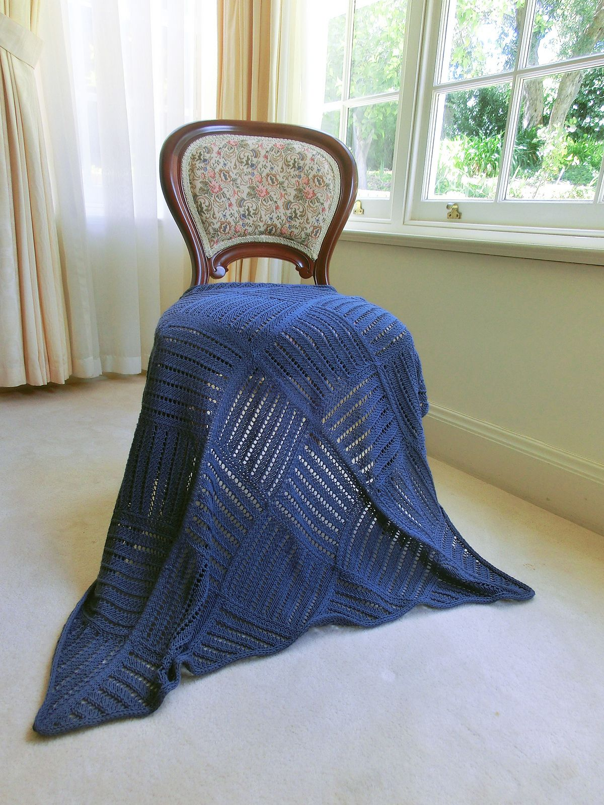 Mocktile Baby Blanket By Thomas Khoo - Free Knitted Pattern ...