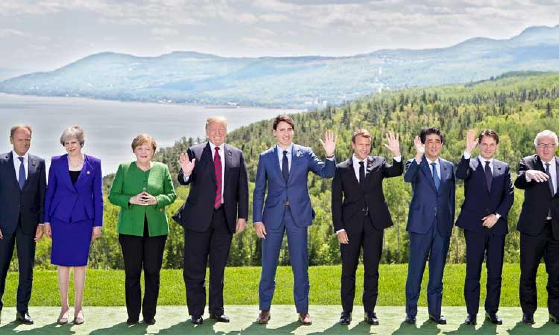 ജി7 ഉച്ചകോടി ഒറ്റപ്പെട്ട് ട്രംപ് Elite, Presidential