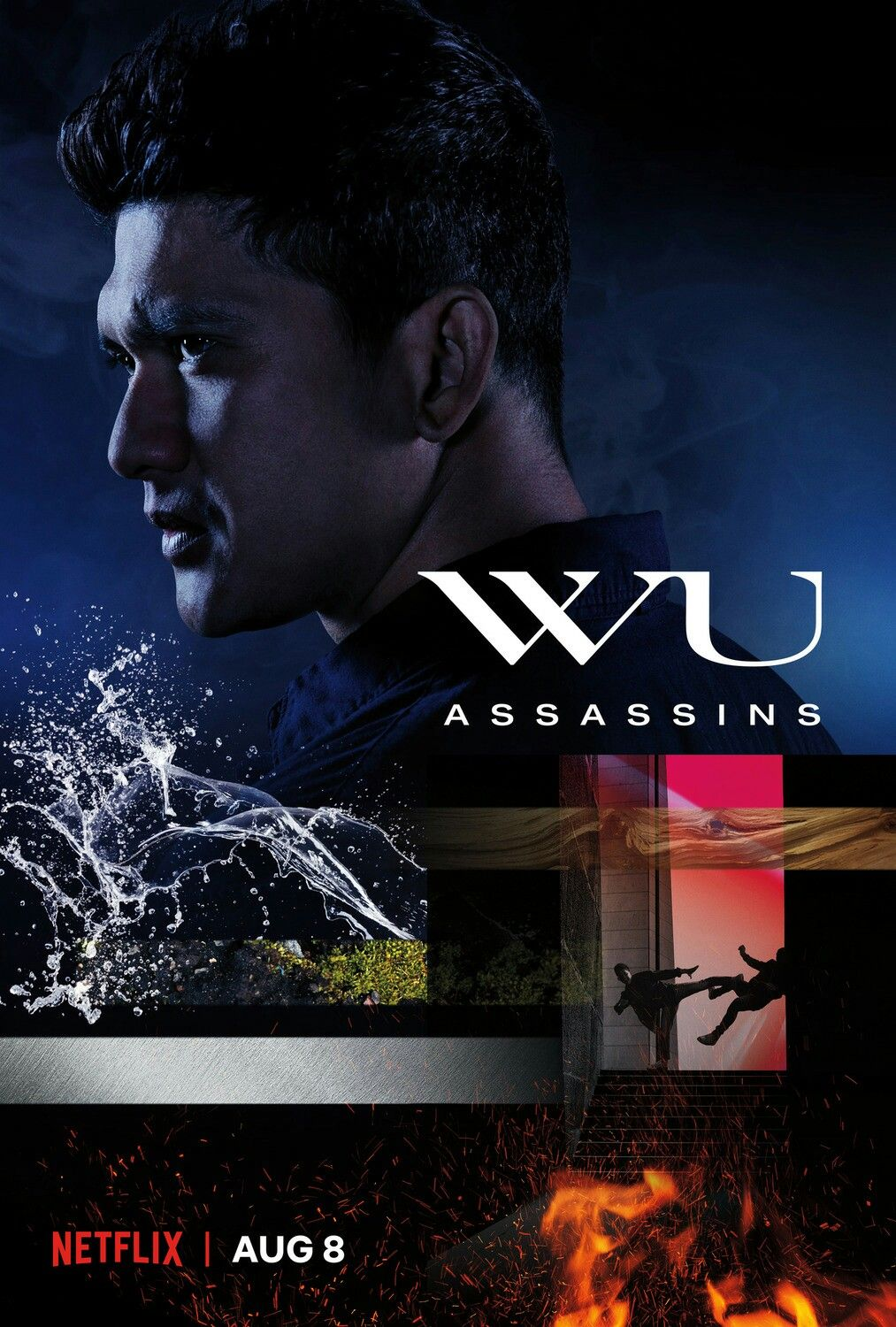 The Poster For The New Netflix Series Wu Assassins Wuassassins