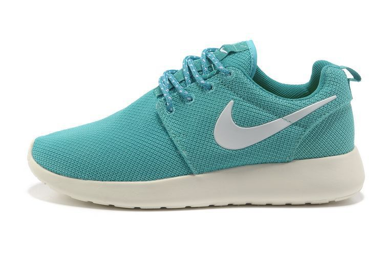 Womens Nike Roshe Run Tropical Twist Trace Blue Shoes  9e11434412