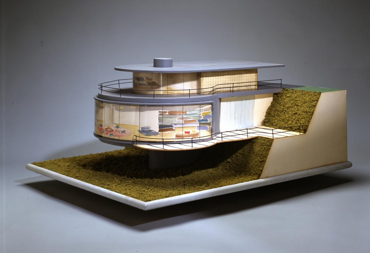 Design And Architecture paul laszlo, model for the laszlo house, 1937 -- from architecture