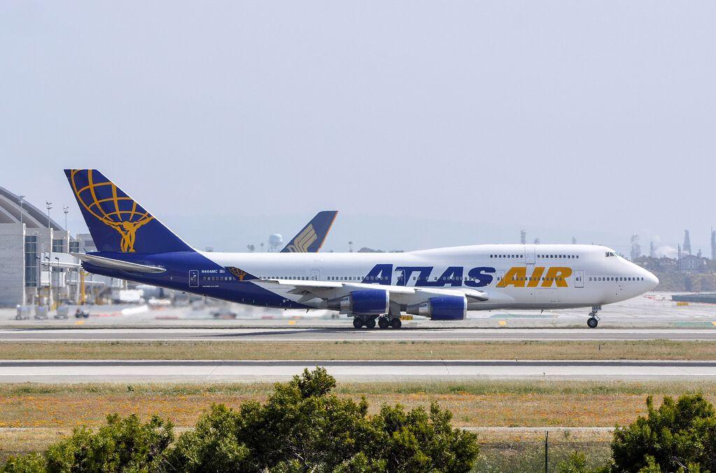 Atlas Air 747446 departing LAX_20130407