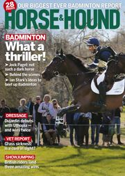 9 May edition. Find out what's inside at http://www.horseandhound.co.uk/news/whats-in-horse-hound-9-may-2013/
