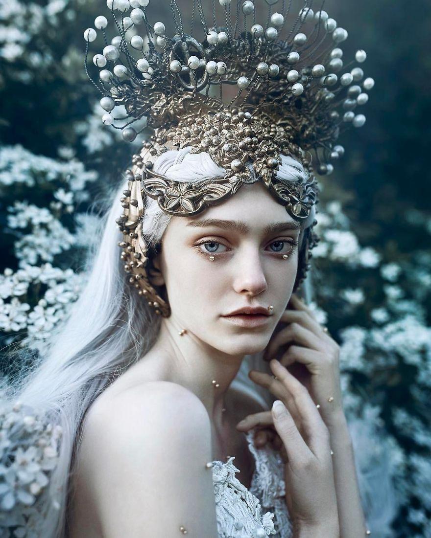 Le portraits fantasy de Bella Kotak