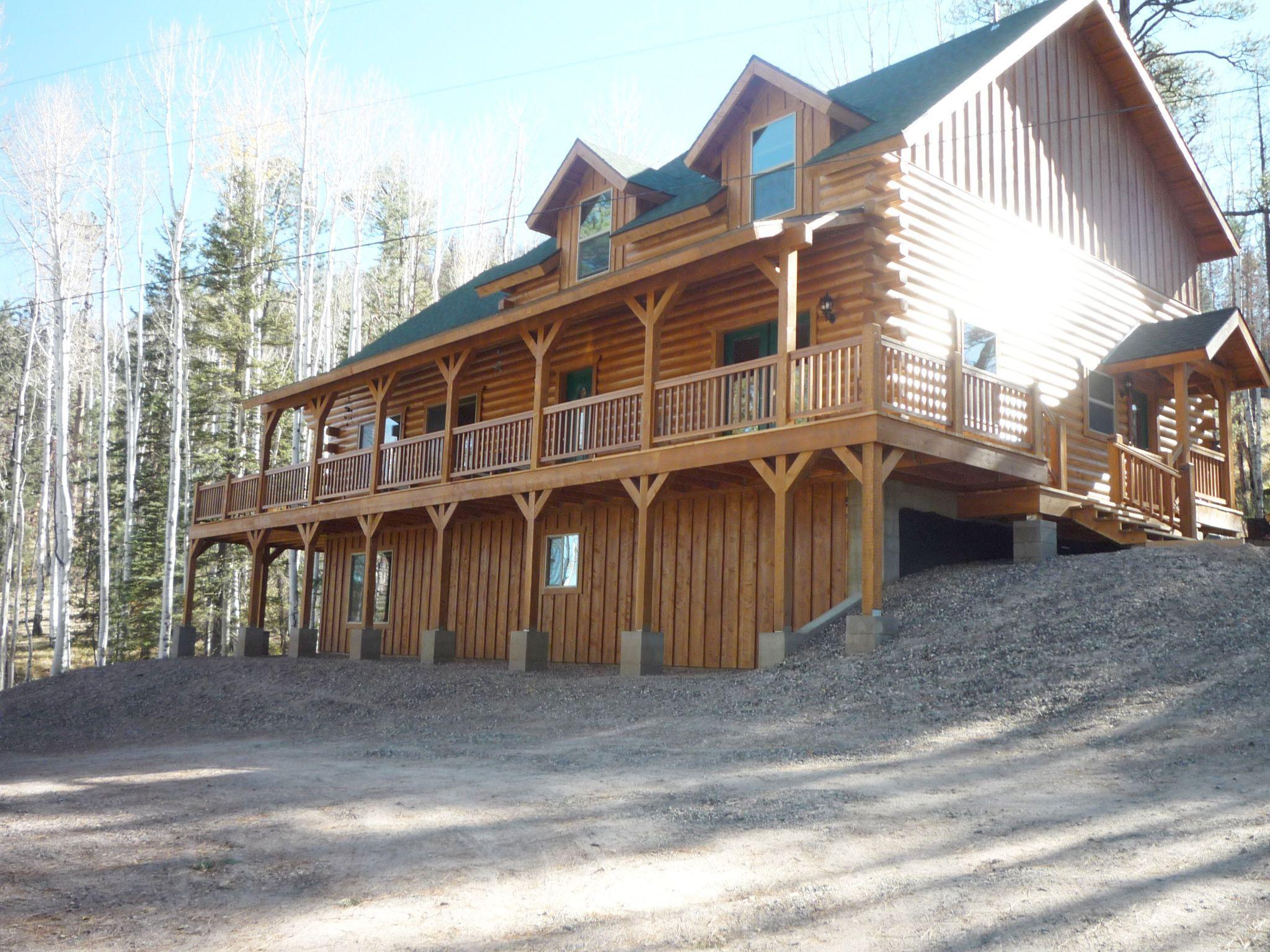 Greer cabins greer lodge estates cabin 176 greer cabin for Cabin rentals near ski apache