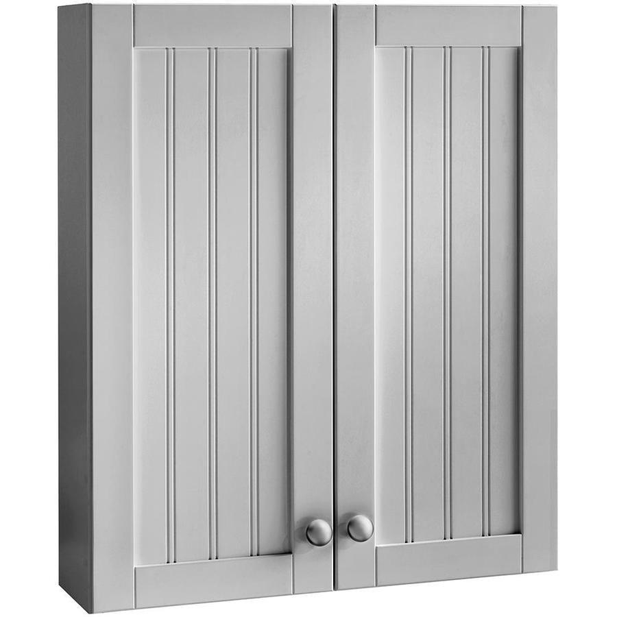 Best Style Selections 23 In Gray Ellenbee Wall Cabinet 23 In W 400 x 300
