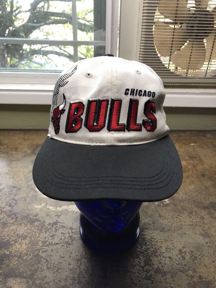 06b783a5c33 Chicago Bulls Hat Vintage 80s Sports Specialties Shadow Snapback NBA  Basketball  SportsSpecialties