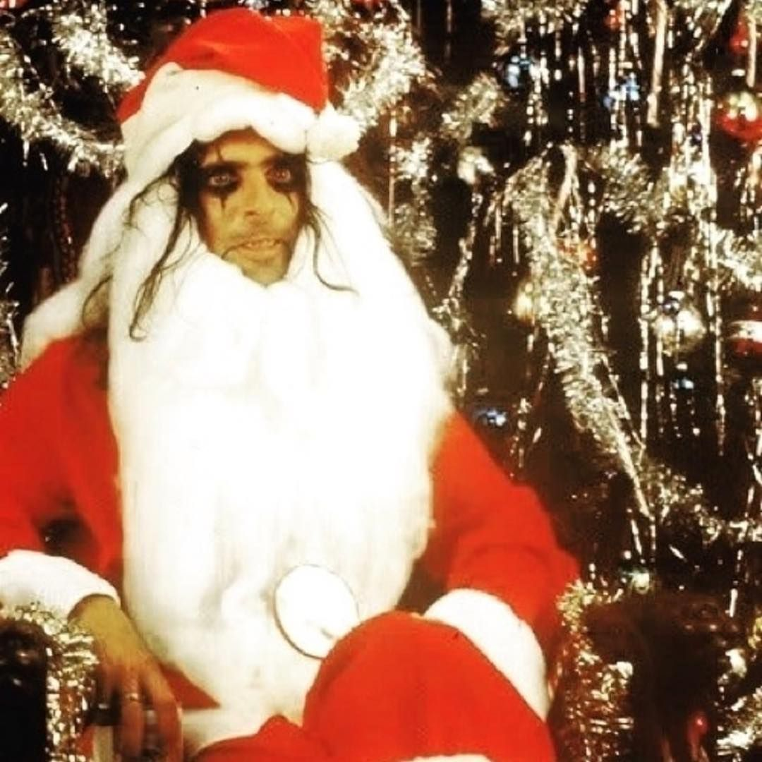Santa Claws Is Coming To Town Shop Alice S Holiday Store At The Link In Bio Alicecooper Santaclaws Holiday Store Santa Claws Alice Cooper