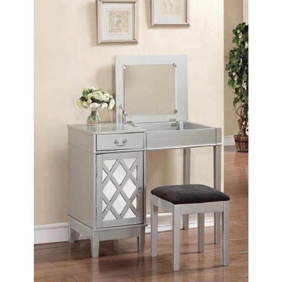 Table Ideas26 Exceptional Makeup Table Ideas Saleprice 49 Vanity Set Silver Vanity Vanity