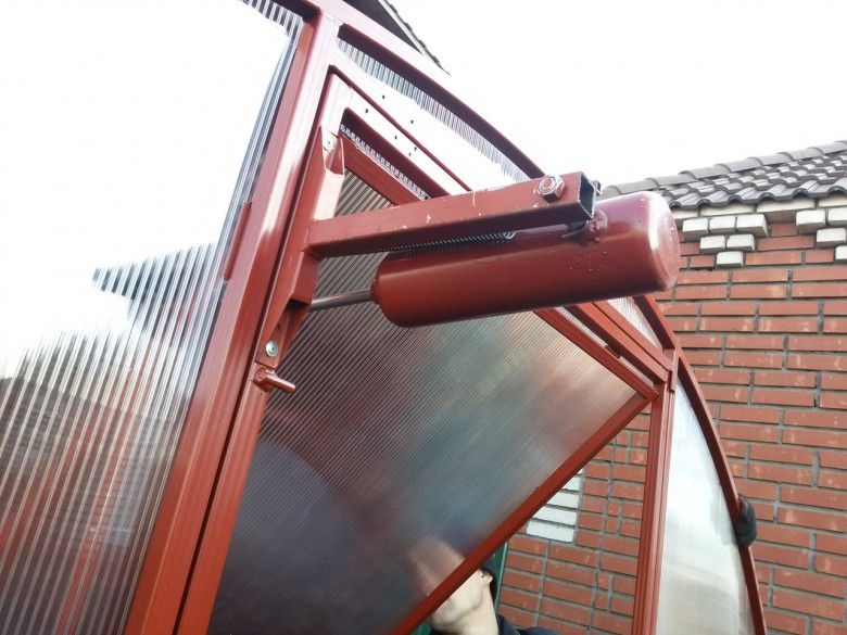 термопривод для теплиц для дверей обзор