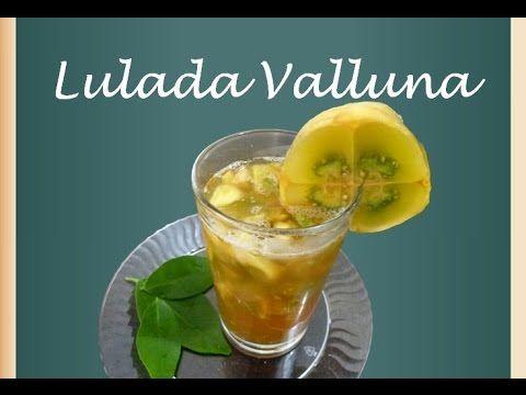 La Lulada Caleña Es Una Bebida Refrescante Típica De La Gastronomía Colombiana Concretamente Del Valle Del Cauca Lulada Recetas Colombianas Recetas De Comida