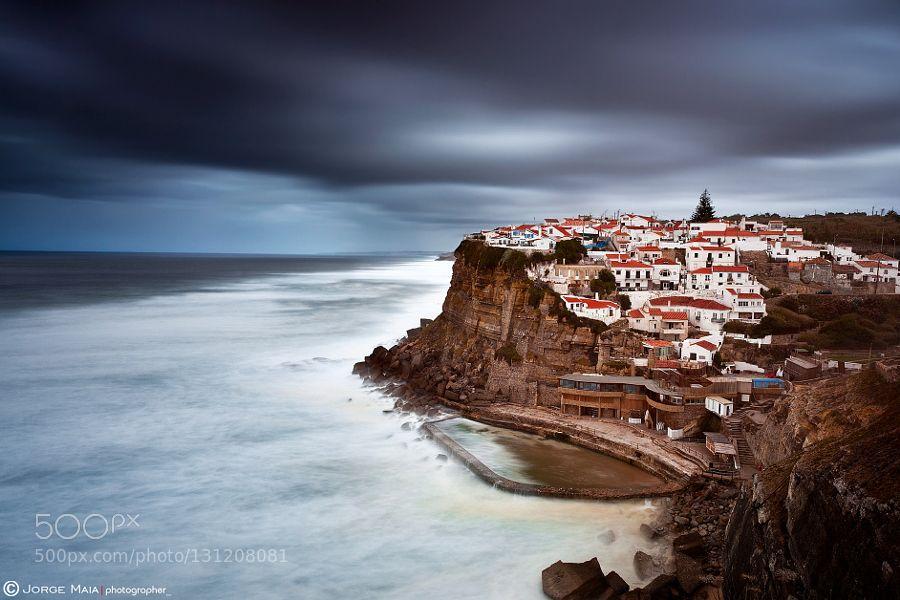 The storm #Jorge_Maia - Azenhas do Mar Portugal Website: JorgeMaia.Photographer.com Facebook | Instagram | Flickr | Prints