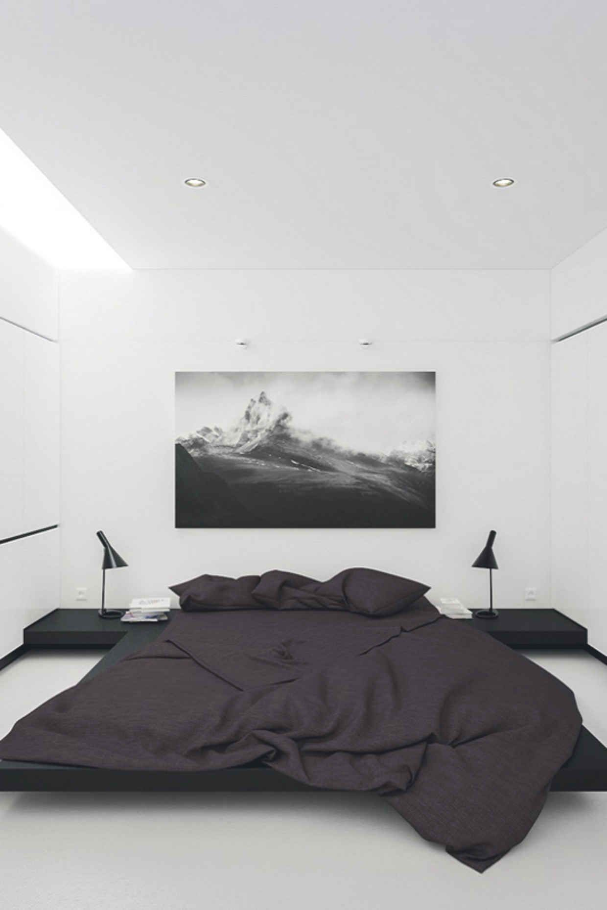 Weekly Inspiration 60 White Bedroom Design Black White Bedrooms