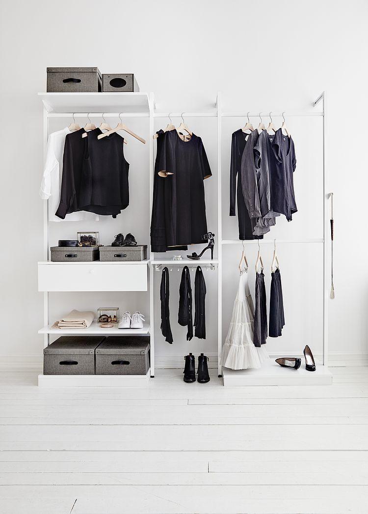 Pinterest Karenbjarna Closet Designs Minimalist Closet