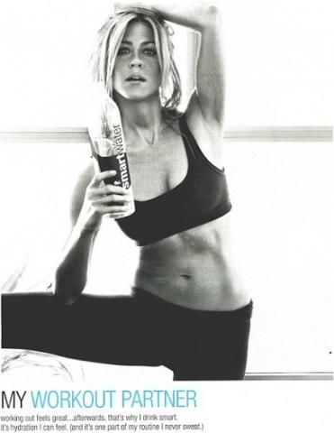 """Jennifer's Body..(get it? it's a pun...) Jennifer Aniston and other celebrities don;t look good by """"doing Yoga"""" or """"walking 20 minutes a day"""". They bust they're ass in the gym and follow a tight diet, just like everyone else. www.roypumphrey.com"""