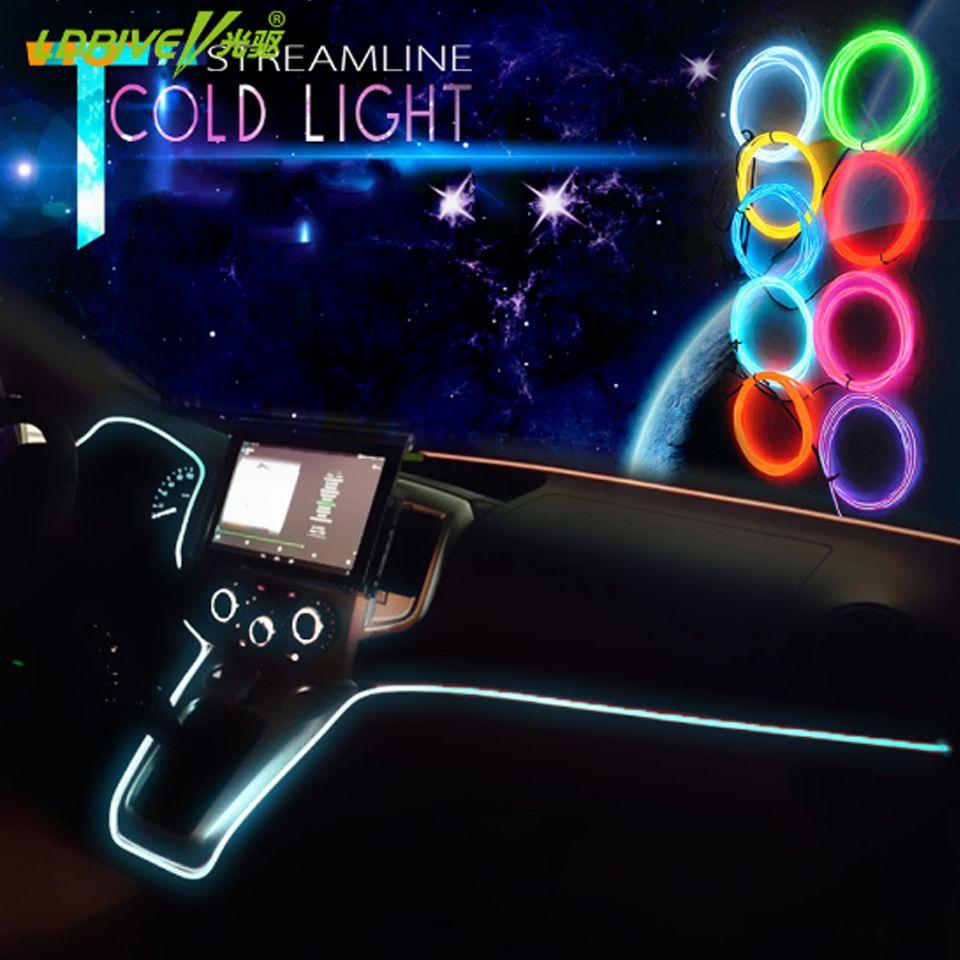 2M/pcs 12V Inverter Flexible LED Strip Light for EL Wire Rope Tube ...