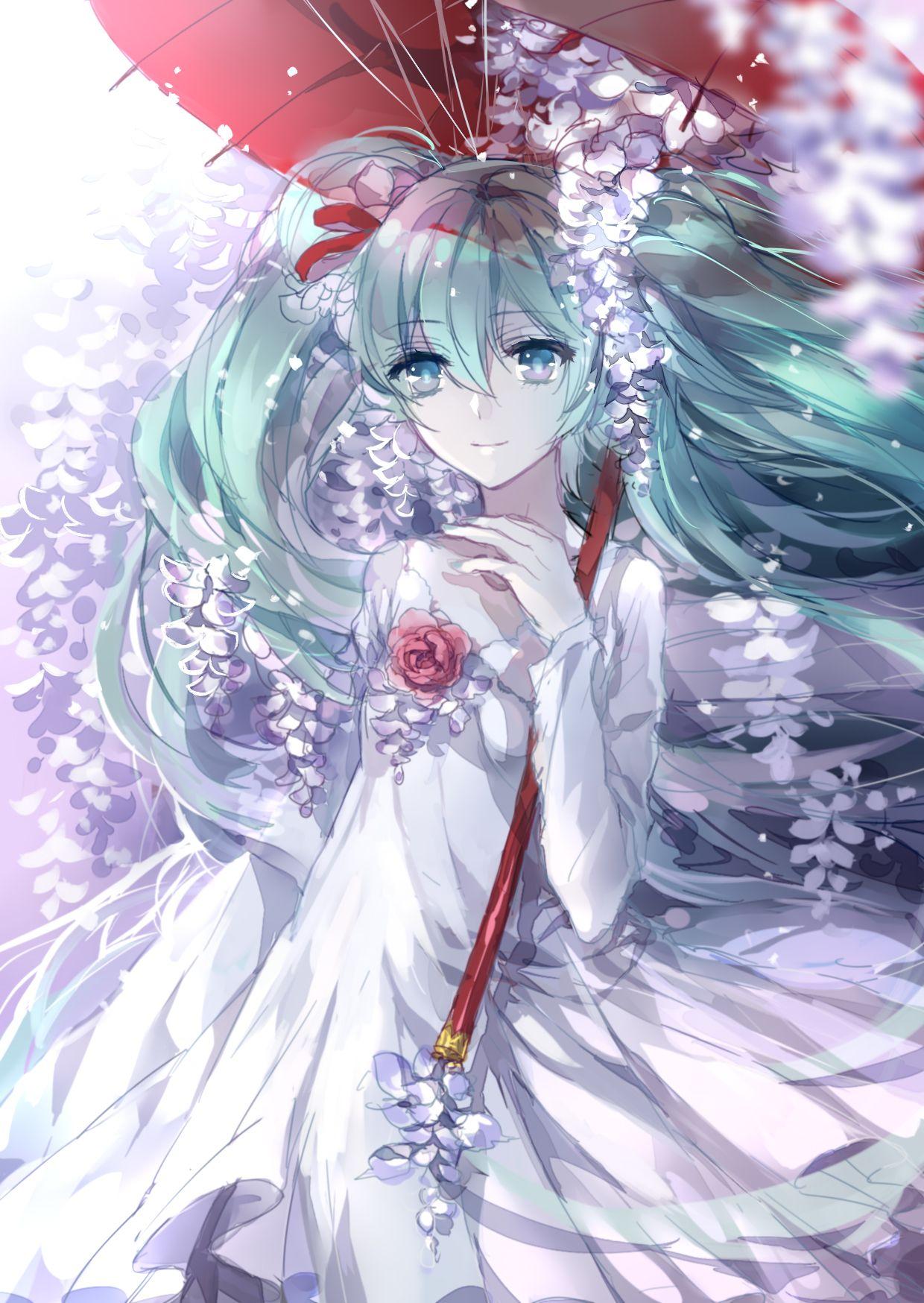 Hatsune Miku Anime, Cô gái phim hoạt hình, Hatsune miku